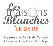 Logo Les Maisons Blanches - Entreprise de maçonnerie sur l'Ile de Ré