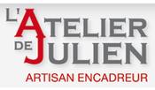 Logo L'Atelier de Julien - Artisan encadreur sur l'Ile de Ré