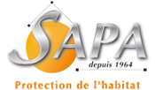 Logo Sapa - Entreprise de traitements des bois sur l'Ile de Ré