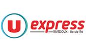 Logo U Express - Supermarché sur l'Ile de Ré